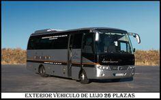 Microbus de lujo 26 plazas