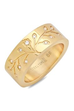 ~Tree of Life Ring~ This would be a great idea for passing down to children. Mom's stone in middle then children's stones added. Have several other branches made that remain neutral. As the ring gets passed down the neutral spaces get filled with their children's birthstones, so on and so forth.