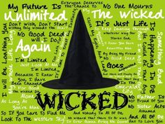 no one mourns the wicked!