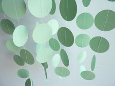 maybe cute mint dots for simple decorations