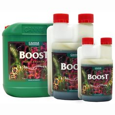 Canna Boost Accelerator - Flowering Accelerator. A great product for improving photosynthesis and increasing plant yield.