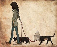 Poor Pup by LaurenMontgomery.deviantart.com on @DeviantArt