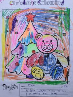 13 Best Christmas Colouring Competition Images Christmas