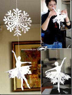 snowflake ballerina