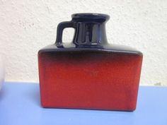 Marei German art pottery vase lava mid-century modernist WGP 60s 70s
