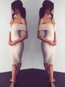 Sexy Bodycon Off the Shoulder Elastic Satin Knee Length Prom Dresses Under Charming Evening Party Dresses A-Line Elegant Gold Long Women Formal Prom Dresses,Evening Gowns Casual Party Dresses, Sexy Dresses, Evening Dresses, Wedding Dresses, Dress Party, Club Dresses, Nice Dresses, Summer Dresses, Prom Dresses Under 100