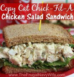 Copycat Chick-Fil-A Chicken Salad Sandwich Recipe