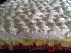 Smetanový dezert snů s pudinkem připraven bez pečení! Chutná přímo božsky! Czech Recipes, Desert Recipes, Vanilla Cake, Muffins, Bakery, Cheesecake, Deserts, Food And Drink, Pie