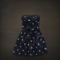 Lobster Point dress in Navy Seagull...bought 3/20/2012