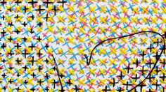 crazy crosstitch: Cross stitch cmyk! by Evelin Kasikov