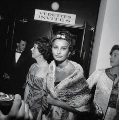 Cannes 1958 Sophia Loren (Archivio RCS/Gianfranco Moroldo))