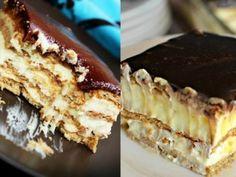 Вкуснейший торт-эклер без выпечки — vkusno.co