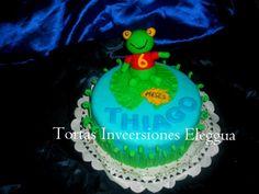 mini torta sapito de cumple mes 6 thiago 0426.221.4329 0212.433.9531