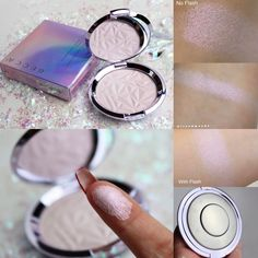 Becca Shimmering Skin Perfector Pressed Highlighter in Prismatic Amethyst Swatch