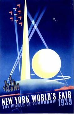 ¤ World's Fair, New York (1939) The world of tomorrow