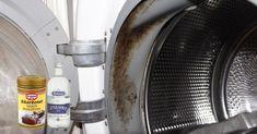 Dålig lukt i tvättmaskinen kan bero på mögel och tvättmedelsbeläggningar. Så här gör du tvättmaskinen ren igen – med ättika och bikarbonat.