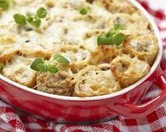 Gratin de crêpes  économique en 30 min (facile, rapide) - Une recette CuisineAZ
