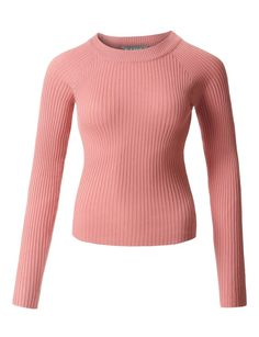 Osave Womens Pullover Boatneck Long Sleeves Knit Dress Loose Short Knitted Sweater Dress with Splits