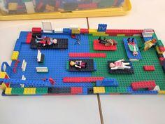 Een ziekenhuis bouwen van lego