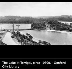Terrigal 1930s Tourist Info, City Library, Old Maps, Historical Images, Central Coast, Union Jack, South Wales, 1930s, Sydney