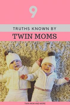 This is a must-read for all twin moms about the hilarious and chaotic life that comes with twins.