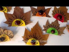 fall crafts for toddlers krokotak Easy Fall Crafts, Fall Crafts For Kids, Kids Crafts, Ghost Crafts, Spider Crafts, Halloween Crafts For Toddlers, Toddler Crafts, Wallpapers Whatsapp, Christmas Angels