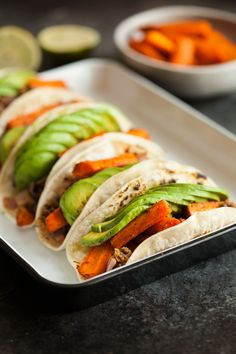 Cumin Roasted Carrot and Lentil Tacos | The Full Helping
