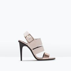 ZARA - SHOES & BAGS - TRF HIGH-HEELED SANDALS