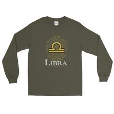 LIBRA- ONLY THE BEST Long Sleeve T-Shirt