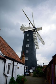 Waltham Windmill at Waltham, UK, taken with Nikon D3300
