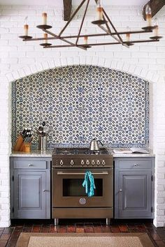View entire slideshow: Patterned Tile Inspiration on www.stylemepretty...