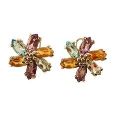 Amethyst Citrin Topas Blüten Ohrringe 41,08 Karat 19 x 18 mm Sterlingsilber–14 Karat vergoldet #JOY #Amethyst #Citrin #Topas #Ohrringe #blütenohrringe #vergoldet #gilded #citrine #topaz #Flowerearrings #Earrings #flowersjewelry #Blüten #Blossom #flowersjewellery #jewelry #Ohrschmuck #blütenschmuck #style #fashion #love #jewelry #blumen #flower #Geschenk #Geschenkidee #gift #Schmuckliebe #jewellery #schmuck #gioiellidifiori #joiasdeflores #bloemensieraden #cvijećenakit #joyasdeflores #unique