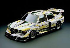 1977 BMW 320i group 5 art car by Roy Lichtenstein