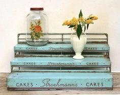 Vintage Stroehmanns Cakes Store Display Rack