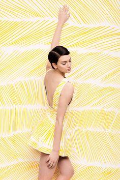 Painted Backdrops by Julia Galdo, via Behance