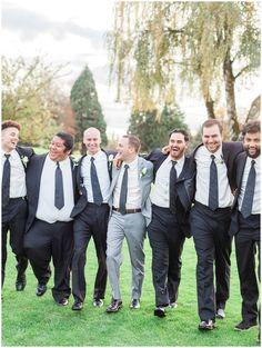 EUGENE OREGON SHADOW HILLS WEDDING PARTY BRIDESMAIDS AND GROOMSMEN