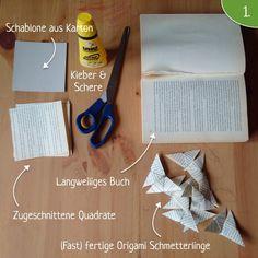 Papierschmetterlinge | Schnittenliebe
