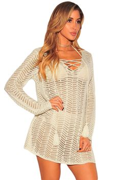 Apricot Lace Up Hoodie Cover Up Dress Club Dresses, Sexy Dresses, Sexy Gown, Clubwear Dresses, Hot Miami Styles, Miami Fashion, Black Bodycon Dress, Hoodie Dress, Celebrity Dresses