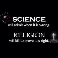 science vs religion.