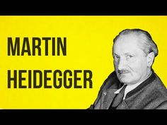 PHILOSOPHY - Heidegger - on Authenticity - The School of Life Youtube channel - covers all philosophers