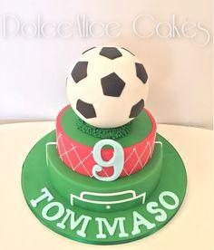 Soccer Cake!Happy B-Day Tommaso!!