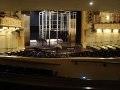 Great Lakes Theater Festival's 2010 production of Othello--Set