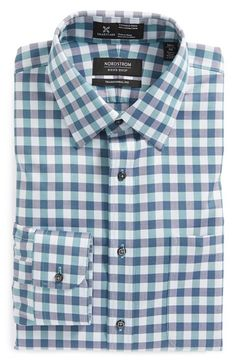 Nordstrom+Smartcare™+Traditional+Fit+Check+Dress+Shirt+available+at+#Nordstrom