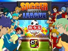 Soccer Puzzle League - This is a totally compelling game that manages to be entirely new and utterly addictive. The app allows you to create player profiles that you develop by earning coins during game play, upgrading equipment, acquiring both passive and active skills and leveling up, and play on a typical match-3 game board. We highly recommend this game and to view the in-app tutorial first. This game is a bit complicated to get the hang of, but once you've got it, you'll be hooked.