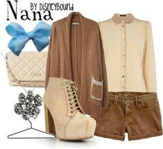 """Nana"" by lalakay ❤ liked on Polyvore"