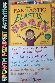 Are you teaching your students about the brain and its role on having a growth mindset? Your students will learn basic concepts about the brain using Your Fantastic Elastic Brain by JoAnn Deak. This blog post contains free and easy to implement ideas for using this book in your classroom.