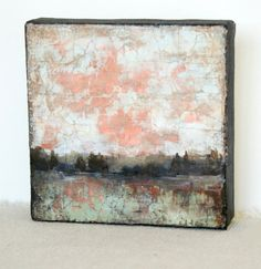 Diana Mulder - Original Abstract Painting Mixed Media Art Landscape Painting