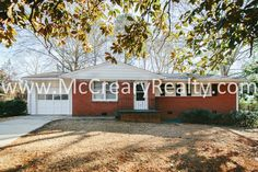 2 BR/1 BA all brick ranch off for rent near Windy Hill  in Smyrna!