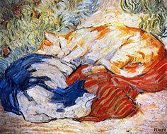 Cats: 1909-10 Franz Marc