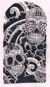 sugar skulls for men | Sugar Skulls By Kirzten On Deviantart